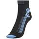 X-Socks Bike Racing Socks Women Black/Sky Blue